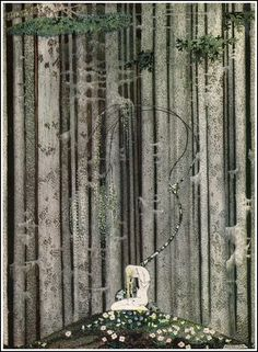 Heavy fairy tale illustrations from the turn of the century. Kay Nielsen, Harry Clarke, John Bauer, John Austen and a few more I don't know the name of. - Album on Imgur