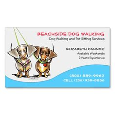 50 Best Pet Sitting Business Cards