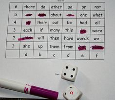 Word Roll: A new way to do it- which word will be LEFT standing! AND it involves math with coordinates! :)
