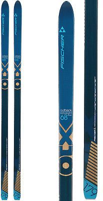 Fischer Outback 68 Crown XC Skis Mens | Cross Country Skiing