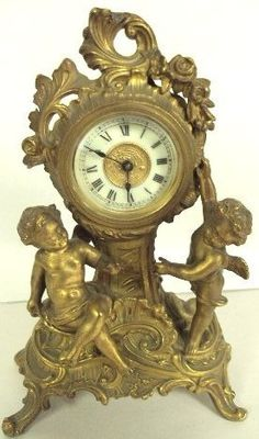 antique ansonia mantle clock