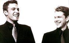 Ben Affleck & Matt Damon. By far best Oscar acceptance speech. These two work so well together<3