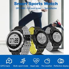 N105 IP68 Waterproof Smartwatch for iPhone Samsung Huawei - US$52.48 Sales Online gray - Tomtop Smartwatch, Apple Technology, Heart Rate Monitor, Watch Sale, Fitness Tracker, Tech Accessories, Samsung, Watches, Iphone