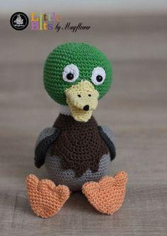 Anden Albert - Køb billigt her Crochet Art, Crochet Toys, Amigurumi Patterns, Crochet Patterns, Knitting Blogs, May Flowers, Hats, Inspiration, Parrot