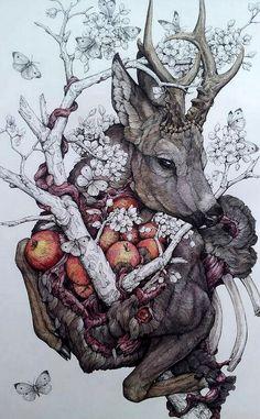 APHRODISIAC ART: LAUREN MARX http://www.laurenmarx.com