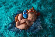 Newborn nemo bonnet finding dory fish bonnet by JLScreationcorner