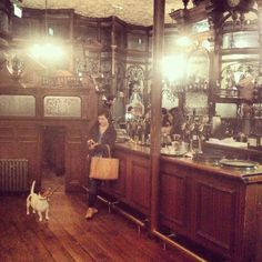 The Prince Alfred. One of the many dog friendly pubs in London