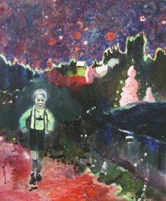 "Saatchi Art Artist Tanja Vetter; Painting, ""Rambling"" #art"