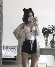 Flawless Summer Outfits Ideas For Slim Women That Looks Cool - Oscilling Edgy Outfits, Cute Casual Outfits, Grunge Outfits, Summer Outfits, Fashion Outfits, Fashion Men, Fashion Ideas, Funny Outfits, Dress Summer