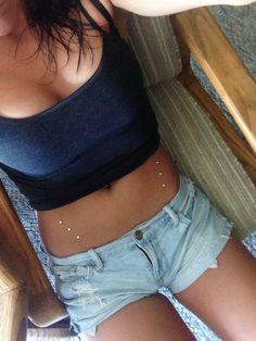 #dermal #piercing #anchor #subdermal #micro #chest #hip #surface