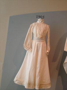 1905 fashion silhouette