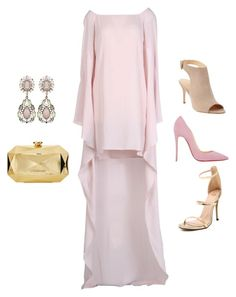 """Pink Preparations for the Weekend!!!"" by la-harrell-styling-co on Polyvore featuring Carla G., Barneys New York, Christian Louboutin and Love Moschino"