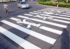Zebra Crossing Highlights Art Forms Urban Furniture, Street Furniture, London Street, New York Street, Zebra Crossing, Tokyo Streets, Street Portrait, Street Graffiti, Signage Design