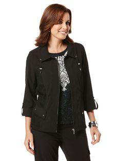Stretch Drawstring Jacket