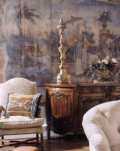 Betty Lou Phillips Book: Provencal Interiors, French Country Style in America Décor Antique, Antique Interior, French Interior, French Decor, My Living Room, Living Spaces, Interior And Exterior, Interior Design, Design Salon