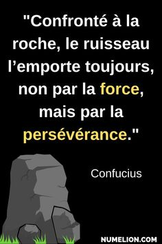 Confucius quote - You have to persevere to succeed - Trend Disloyal Quotes 2020 Confucius Citation, Confucius Quotes, Quote Citation, Positive Attitude, Positive Vibes, Book Quotes, Life Quotes, Disloyal Quotes, Full Quote