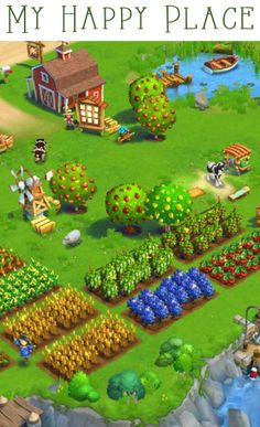 Farmville 2: Country Escape - my happy place. #Farmville2 http://zynga.com/game/farmville2-country-escape