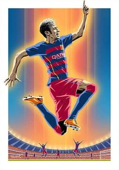 712. Design: Neymar  #fcblive [by @fian_mascherano]