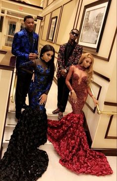 Tips for Planning Your Prom: Prom Dresses, Prom Schedule, Hairstyle, and More! Black Girl Prom Dresses, Senior Prom Dresses, Cute Prom Dresses, Prom Outfits, Black Prom, Formal Dresses, Elegant Dresses, Nice Dresses, Moda Afro