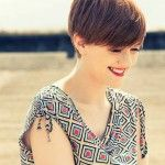 different ways to style short hair pixie