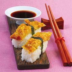 Sushi mit Tamago