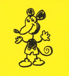Mouse Doodle by Don Moyer