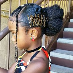 30 hairstyle ideas for afro-haired girls – Confessions of a … … - African Braids Hairstyles Natural Hair Bun Styles, Natural Hair Tips, Curly Hair Styles, Baby Girl Hairstyles, Trendy Hairstyles, Braided Hairstyles, Short Haircuts, Teenage Hairstyles, Creative Hairstyles