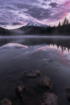 Trillium Lake by: Tom Hill