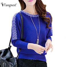 O-Neck Long-sleeved Casual Knit Top