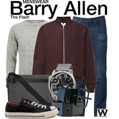 Inspired by Grant Gustin as Barry Allen on The Flash