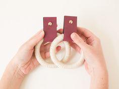 Bastelset - DIY Kit Stylische Hänger - ein Designerstück von DIYwithlove bei DaWanda