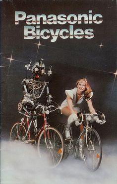 retro future #Panasonic #bicycles