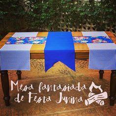 """144 curtidas, 16 comentários - Festeirice (@festeirice) no Instagram: """"Vai fazer uma festa junina? Que tal transformar sua mesa com nossas passadeiras!? Elemento simples…"""""""