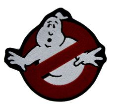 - Ghostbusters Iron On Patch - 100% Cotton - Well made, greatly embroidered and neatly stitched. - Just iron on any fabric you like - Turn your ordinary clothes or bags into something that stands out