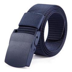 [MILUOTA]2015 Designer Belts Men High Quality Canvas Outdoor Belt