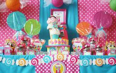 Today we celebrated my sweet sweet Bailey's SWEET 6th birthday with a Candy Shoppe Celebration at All Around Gymnastics! !! What a FUNNN...