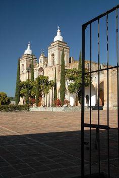 Iglesia de Etla, Oaxaca, México