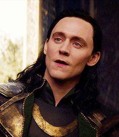 Loki likes it rough.... That smirk tho! <3