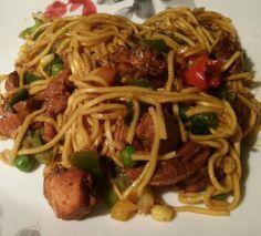 Guyanese Chinese Chowmein