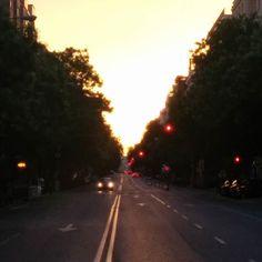 Madrid time #sunset