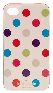 dotted iPhone 4 case // kate spade