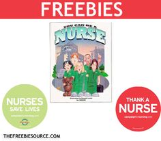 FREE Nurse Magnets and Coloring Books