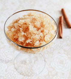 Friday Content Hour: Apple Cider Granita - http://www.weddideas.com/wedding-ideas/friday-content-hour-apple-cider-granita.html