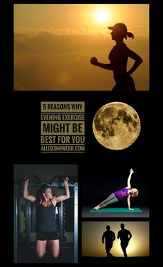 Morning workouts get all the glory, but evening exercise works! Here's 5 reasons why evening exercise just might be what you need to reach your fitness goals.