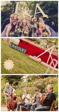A Lovely London Garden Wedding