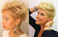 Vibrant Layered Pixie Haircuts