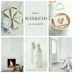 Weekend, I love you.... #sunday #love #moodboard #inspiredBYCOLOR