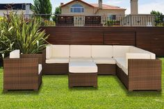 IH Bella 8 pcs sectional. Patio furniture
