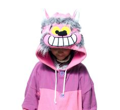 Cheshire Cat Moon Kigurumi - Custom Handmade - Anti-pill Fleece Pyjamas -  Unisex costume - for Adult and Children -high quality 5814e762055f4