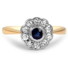 18K Yellow Gold The Mariam Ring from Brilliant Earth